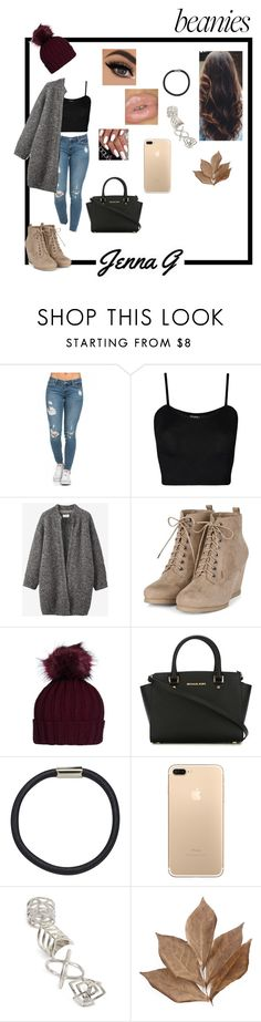 """""""Beanies."""" by iamjennagarcia on Polyvore featuring WearAll, Toast, MICHAEL Michael Kors, Hershesons, Topshop and Bliss Studio"""