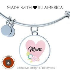Beautiful Mother's Day Gift Ideas | Home Is Where the Heart Is - Give one now :) #bearyless #mothersdaygiftideas #custommadejewelry (scheduled via http://www.tailwindapp.com?utm_source=pinterest&utm_medium=twpin)