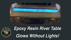 Epoxy Resin River Table Hey Everyone, Jeremy Hoffpauir here. Since I have leftover sinker cypress, I decided to build a new and improved 'sister' table to the led epoxy resin river table I