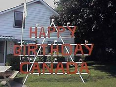 Canada Day party decorations and ideas blend red and white decorating colors into outdoor home decor, brightening up backyard designs on the of July Design Your Own Bathroom, Spa Bathroom Design, Bathroom Designs Images, Simple Bathroom Designs, Canada Day Party, Backyard Designs, Decorations, Country Signs, Decorating Ideas