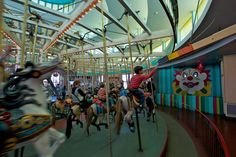 I LOVE this carousel on the Santa Cruz Boardwalk ☺ I can't tell you how many rings I grabbed when I was young ☺