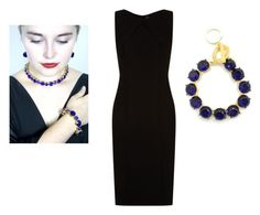 """""""Sparkle and Shine"""" by Chic 24 hours on Polyvore featuring Zenzii and Hugo Boss. Calling all fashionistas and jewelry lovers! Get the dazzling evening look with our statement necklace and bracelet. Accessorize in style with our crystal bracelets and necklaces. Don't miss out, turn pheads at your next formal occasion in our Zenzii collection."""
