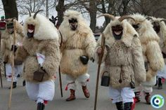 """The Busójárás (meaning """"Busó-walking"""") is an annual celebration of the end of the winter in Mohács, Hungary. Folk Costume, Costumes, Budapest Hungary, Busan, Adult Coloring Pages, Anthropology, Folklore, Hobbit, Techno"""