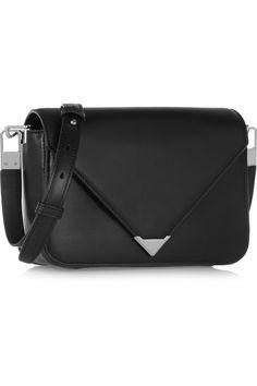 ALEXANDER WANG Prisma Envelope leather shoulder bag $819.97 http://www.net-a-porter.com/products/503311