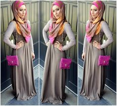 http://abayatrade.com muslim magazine  Saman style ❤ hijab style