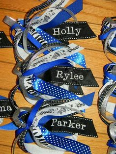 Personalized hair ties