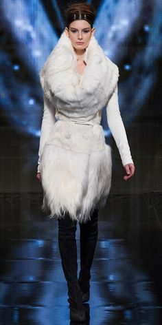 Runway Looks We Love: Donna Karan - Donna Karan from #InStyle