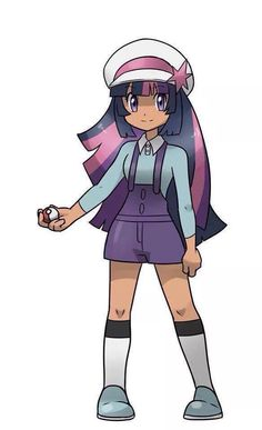 Pokemon Trainer Twilight Sparkle!