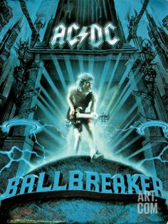 AC/DC - Ballbreaker. An underrated great album.