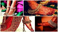 Some serious anklet inspiration for our lovely brides-to-be. #fiestroevents #anklets #bridalanklets #weddingday #indianweddings #destinationweddings #weddingplanner #destinationweddingplanner #convertingvisionsintoreality