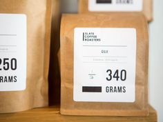 Lately, something has been happening with coffee in Seattle. Food Packaging Design, Coffee Packaging, Coffee Branding, Bottle Packaging, Coffee Labels, Organic Packaging, Chocolate Packaging, Paper Packaging, Beer Labels