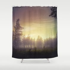 Buy Shower Curtains featuring They told me you were here by HappyMelvin. Made from 100% easy care polyester our designer shower curtains are printed in the USA and feature a 12 button-hole top for simple hanging.