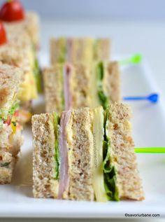 mini sandvis cu jambon pasta de oua fierte si branza gouda frico reteta simpla