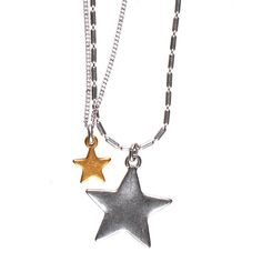 We love the New Hultquist Starraine Necklace £32 from www.lizzielane.com http://www.lizzielane.com/product/hultquist-jewellery-starraine-bi-colour-necklace/