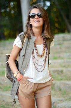 love the vest with this outfit