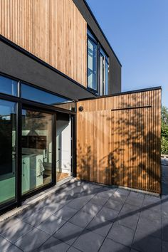 """Wooden villa located not far from Copenhagen, Denmark Architects: N+P ARCHITECTS Location: Denmark Year: 2015 Area: 2.583 ft²/ 240 m² Photo courtesy: Andreas Mikkel Hansen, Patrick Ronge Vinther Description: """"Villa S, is located with a newly established residential area on one side, and with a forest on the other – not far from Copenhagen, Denmark. The shaping of …"""