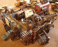 Ork Fortress, home made, fantastic, Warhammer 40k.