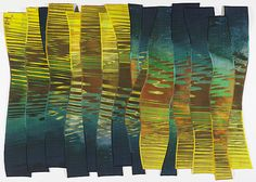 Liquid Sunset by Charlotte Ziebarth at Quilt National 15
