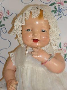 1924 Effanbee Bubbles Doll in Original Tagged Dress | eBay