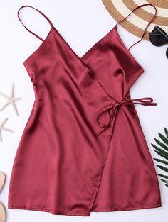 GET $50 NOW | Join Zaful: Get YOUR $50 NOW!http://m.zaful.com/cami-wrap-slip-dress-p_272280.html?seid=52c8ovhpnbmca6thskecj08705zf272280