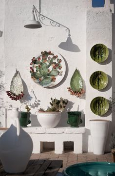 Italy: Ceramica una passione. La Puglia di Enza Fasano