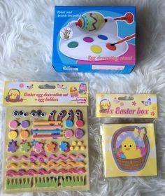 Ostern Osterei Ei Malmaschiene Malen Farbe Pinsel Kinder Fest Dekoration Deko | eBay