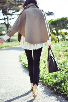 love the neutrals and layering