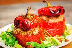 פלפל ממולא בבורגול - אתר hfood אוכל בריא מציע לגולשים מתכונים בריאים וטעימים וטיפים בנושאי תזונה נכונה וגם פלפל ממולא בבורגול. לחצו לצפיה במתכון בריא