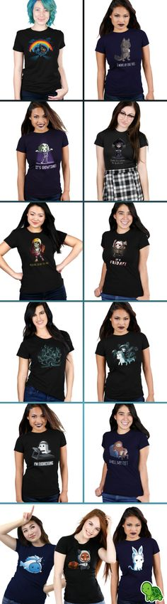The perfect tees to get in the Halloween spirit!
