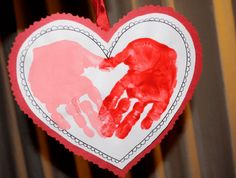 Kids Handprint Crafts for Valentine's Day Hearts Kids Handprint Crafts for Valentine's Day Hearts Kinder Valentines, Valentine Crafts For Kids, Valentines Day Hearts, Be My Valentine, Valentine Poems, Pam Pam, Classroom Crafts, Daycare Crafts, Valentine's Day Quotes