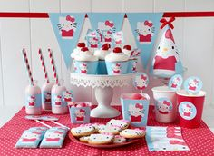 Kit de fiesta de Hello Kitty - GRATIS