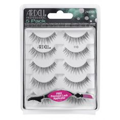 Shop Ardell Natural Lash 110 - 5 Pack and the full Strip Eyelashes range at Sally Beauty today, and get free delivery on orders over Individual Lashes, Sally Beauty, Natural Lashes, Eyelashes, Packing, Make Up, Products, Individual Eyelashes, Makeup
