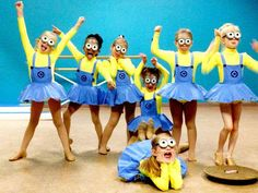 Costume Minion Dancewear girls CUSTOM MADE RESERVED