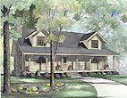 Log Cabin House Plan ID: chp-21173 - COOLhouseplans.com