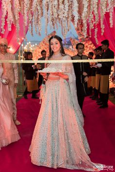 Meet Simran - The Stylish & Gorgeous Sister of The Bride Party Wear Indian Dresses, Designer Party Wear Dresses, Indian Gowns Dresses, Indian Bridal Outfits, Indian Bridal Fashion, Dress Indian Style, Indian Fashion Dresses, Bridal Dresses, Engagement Dress For Bride