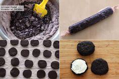 Cómo hacer galletas caseras estilo Oreo. Pasos de la receta