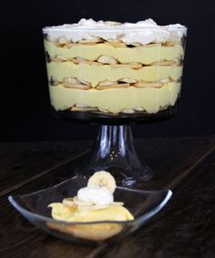 Banana Pudding! mmmmm LOVE Banana pudding