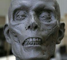 ArtStation - Dark Shadows / Vampire Victim Sculpt, Hatch Effects Arte Horror, Horror Art, Sculpture Art, Sculptures, Skull Reference, Anatomy Sketches, Anatomy Poses, Creature Drawings, Prop Design