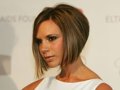 Two words: Posh Spice. This cut follows the occipital bone in the back of the head to create a wedge shape.                   Image Source: Getty / Ethan Miller