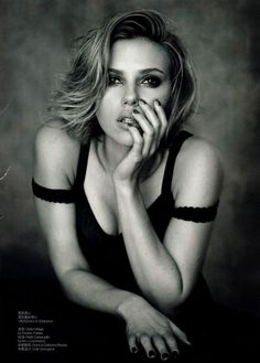 Scarlett Johansson | Peter Lindbergh #photography | Vogue China April 2011