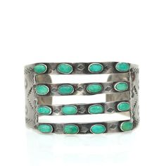 4 Band Turquoise Cuf