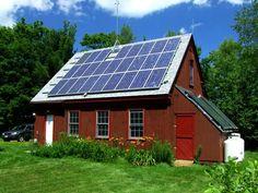 solar power barn