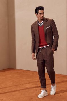 Brunello Cucinelli  #VogueRussia #menswear #springsummer2018 #BrunelloCucinelli #VogueCollections