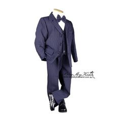 Boys Formal Suit Set Size 000 – 6 Navy Pin Stripe Great for Formal Occasions, Weddings, Communions and other special functions Kids Formal Wear, Boys Formal Suits, Boys Suits, Formal Wedding, Wedding Suits, Navy Pinstripe Suit, Page Boy, Kids Boys, Baby Boys
