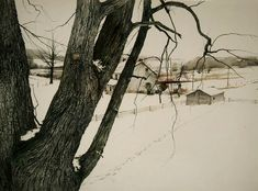 """""""February 2nd, 1942"""" by Andrew Wyeth !"""