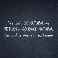We do not go natural. We return or go back to natural. Natural is where it all began! Natural Hair Quotes, Natural Hair Art, Love Natural, Natural Styles, Going Natural, Natural Hair Journey, Natural Beauty, Au Natural, Natural Hair Inspiration