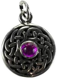 "Cosmos pewter The classic Celtic knot represented the infinite and the infinite connections of all things, one to the other. Stone color random. Has cord. Pewter. 3/4""  https://shadowsofthemoon.net   #witchcraft #Wiccan #altar #Pagan #ilovemywitchyways #shadowsofthemoondotnet #Book #witchy #shadowsofthemoon #Wicca"