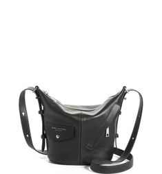 MARC JACOBS The Mini Sling Convertible Leather Hobo  278ded5a51301