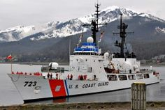 USCGC Rush (WHEC 723) at USCG Station Juneau, Alaska