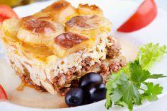 Grecka musaka czyli bakłażany z mięsem i ziemniakami